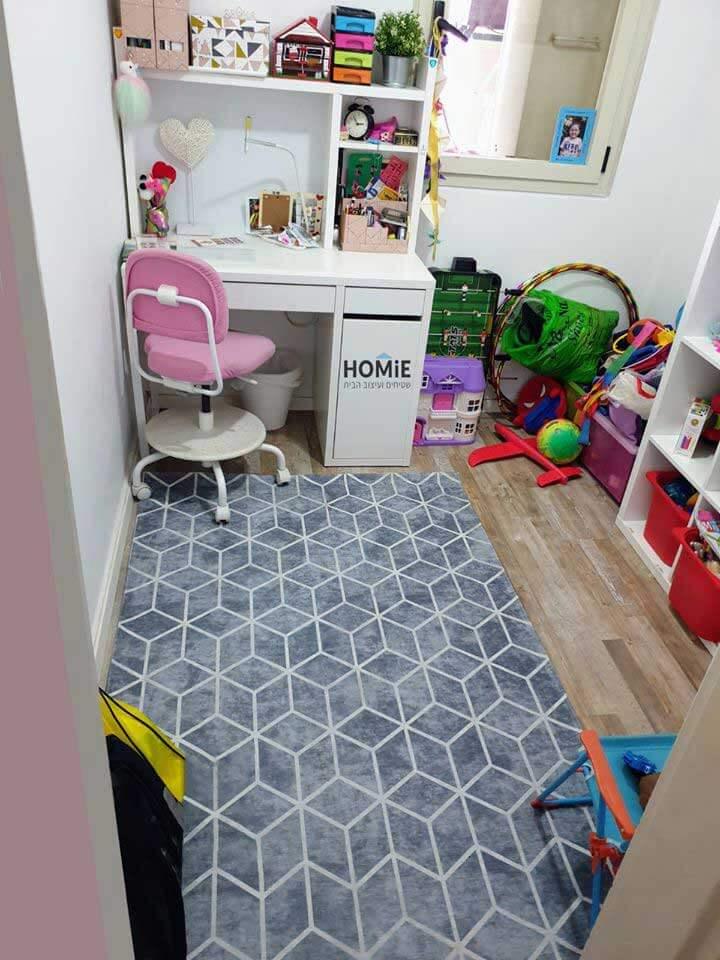 שטיח ילדים גיאומטרי