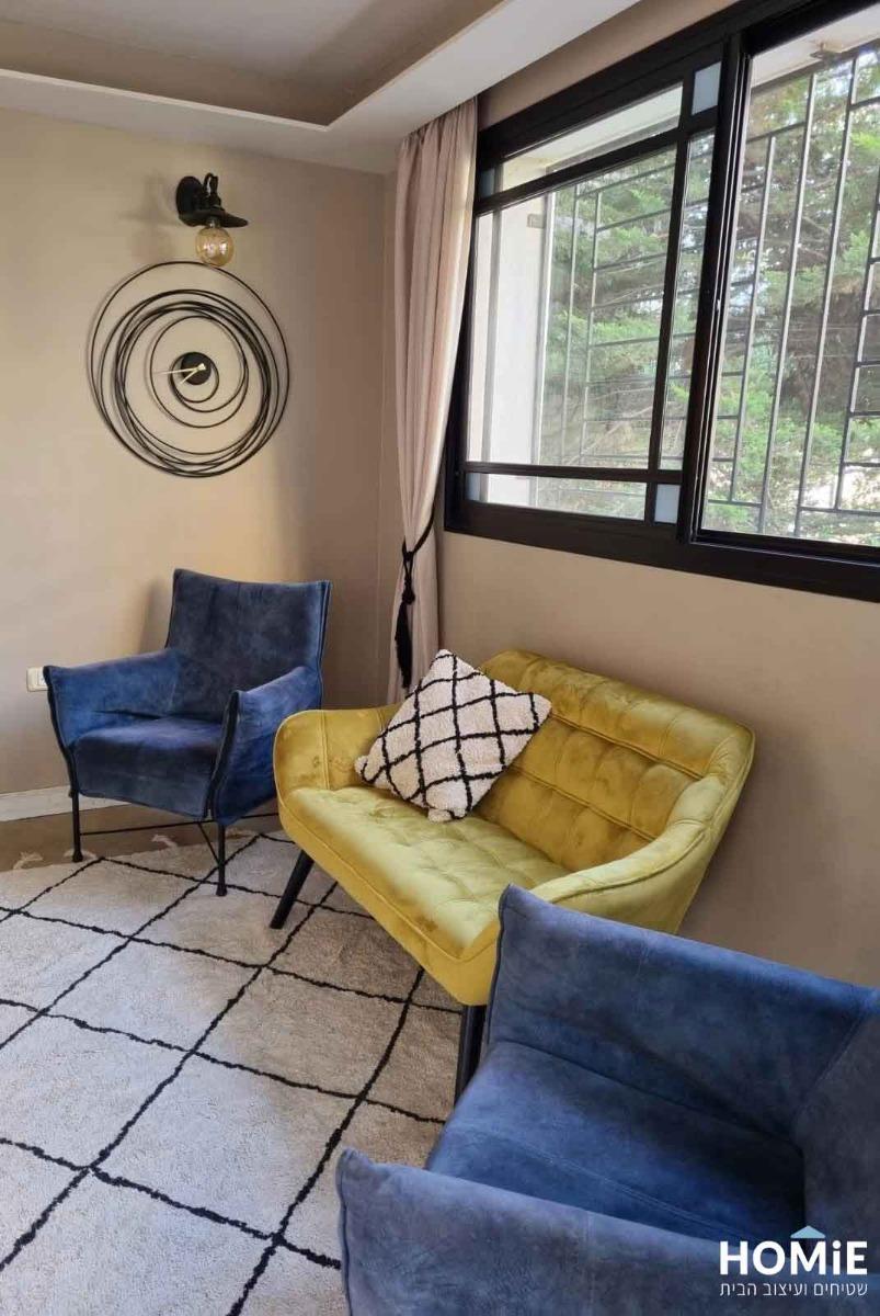 שטיח לסלון מודרני בוהו סקנדינבי