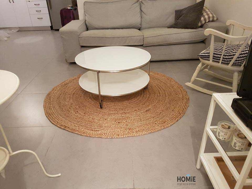 שטיח חבל עגול דגם סאו פאולו