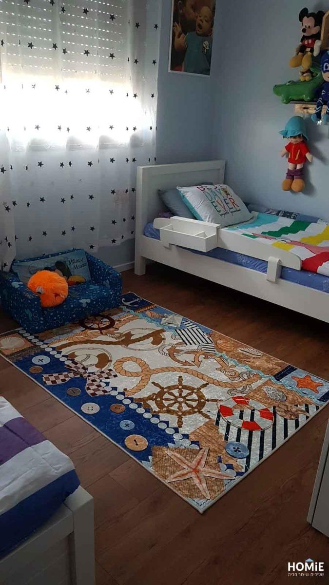 שטיח חדר ילדים / תינוקות / גן ילדים מודרני ים