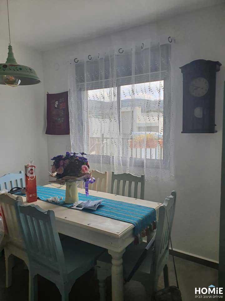 וילון כפרי וינטג' תחרה לסלון לחדר שינה למטבח בצבע לבן