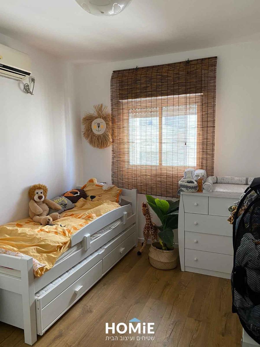 וילון גלילה במבוק טבעי עבודת יד לסלון, חדר שינה, חדר ילדים ועוד
