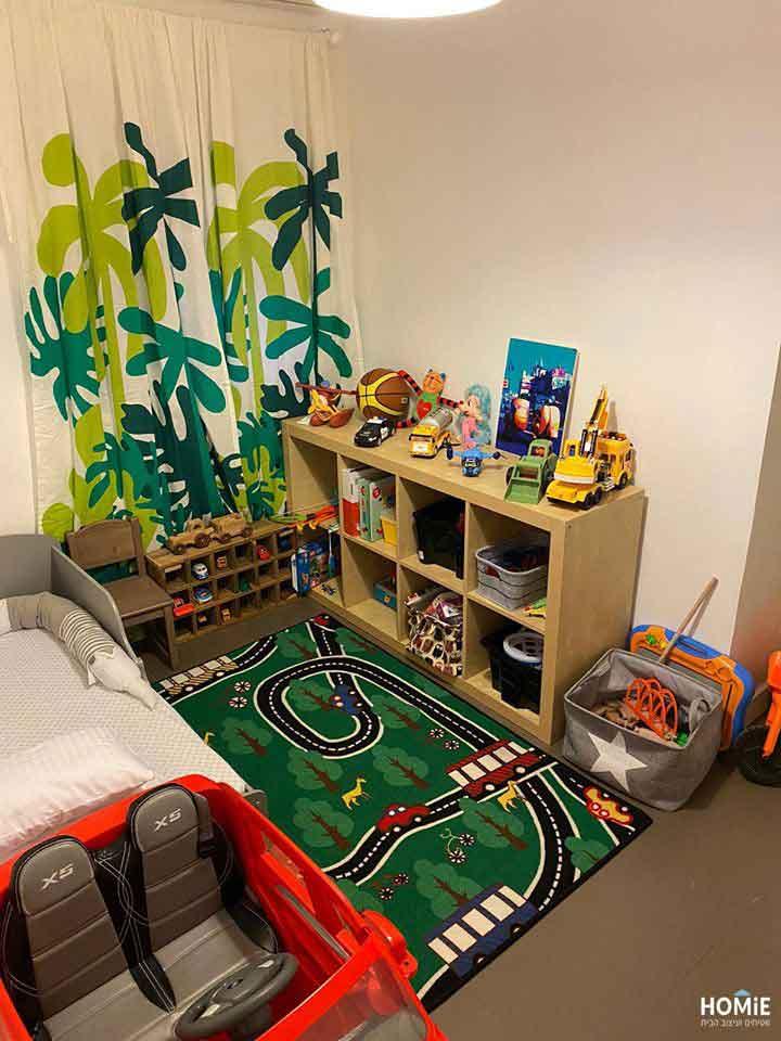שטיח כבישים לחדר ילדים