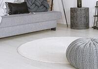 שטיחים עגולים לסלון, לחדר שינה, לחדר ילדים, למטבח ושאר חלל הבית